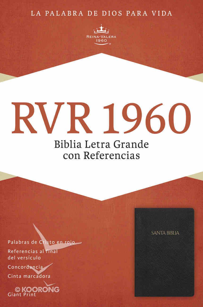 Rvr 1960 Biblia Letra Grande Con Referencias, Negro (Black) Imitation Leather