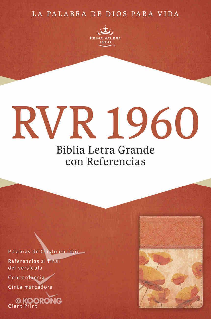 Rvr 1960 Biblia Letra Grande Con Referencias Cordovan Imitation Leather