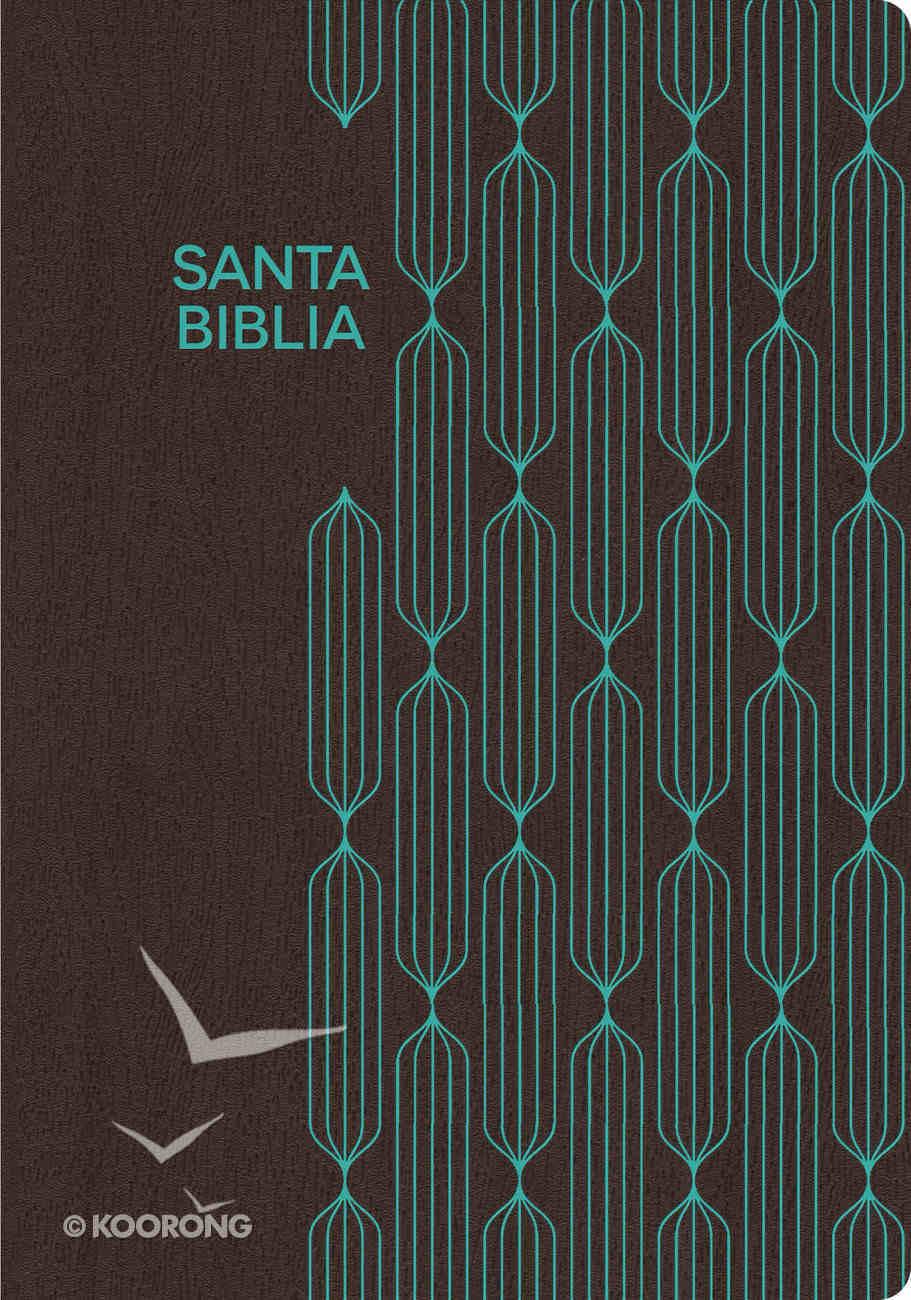 Rvr 1960 Biblia Para Regalos Y Premios, Caf/Turquesa (Brown/turquoise) Imitation Leather