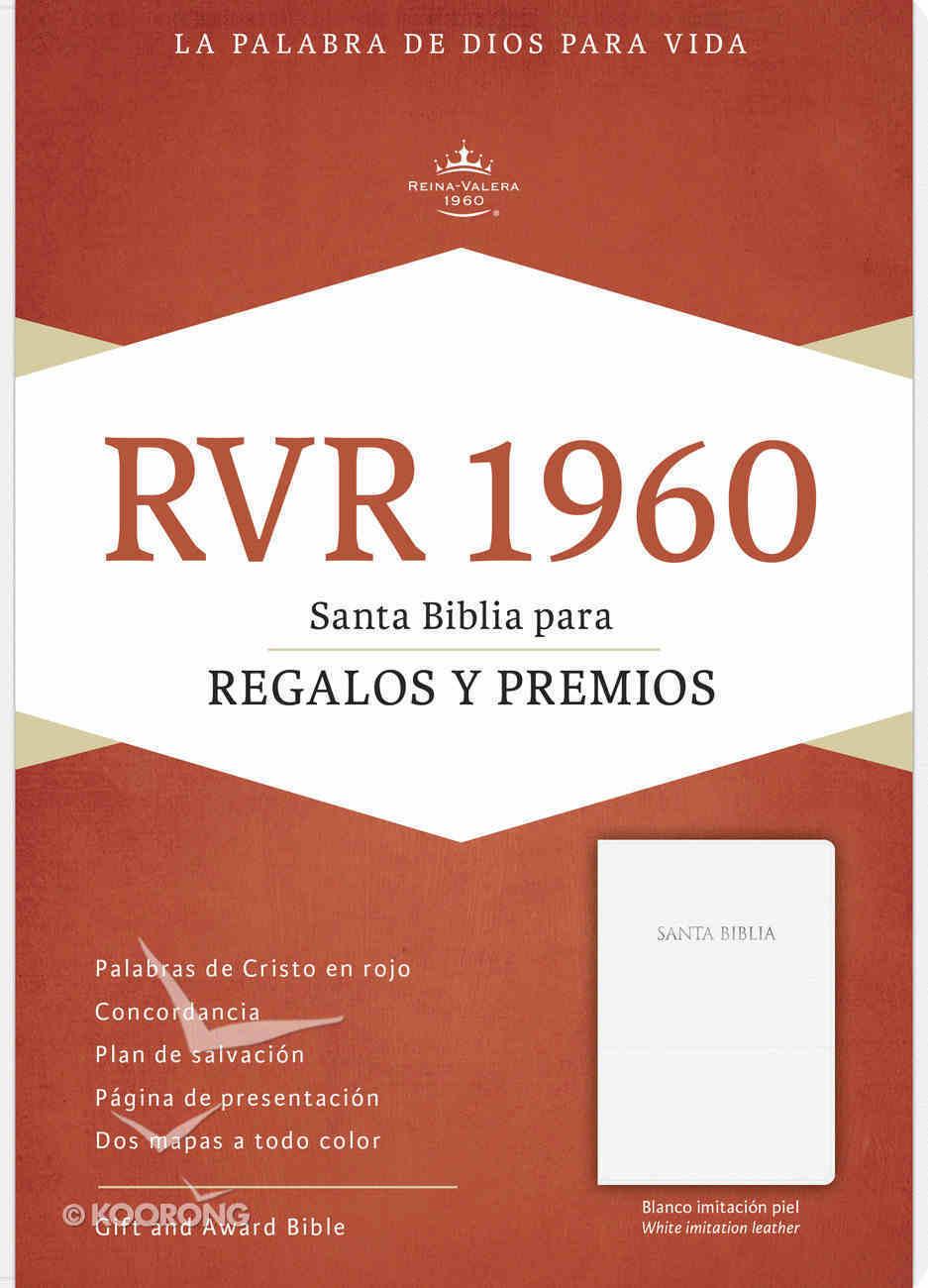 Rvr 1960 Biblia Para Regalos Y Premios Blanco (Red Letter Edition) (White) Imitation Leather