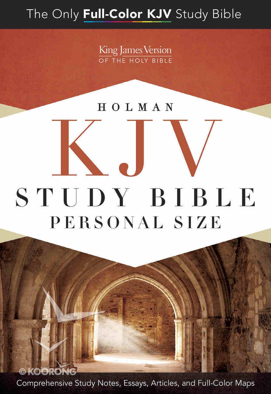 KJV Holman Study Bible Personal Size Paperback