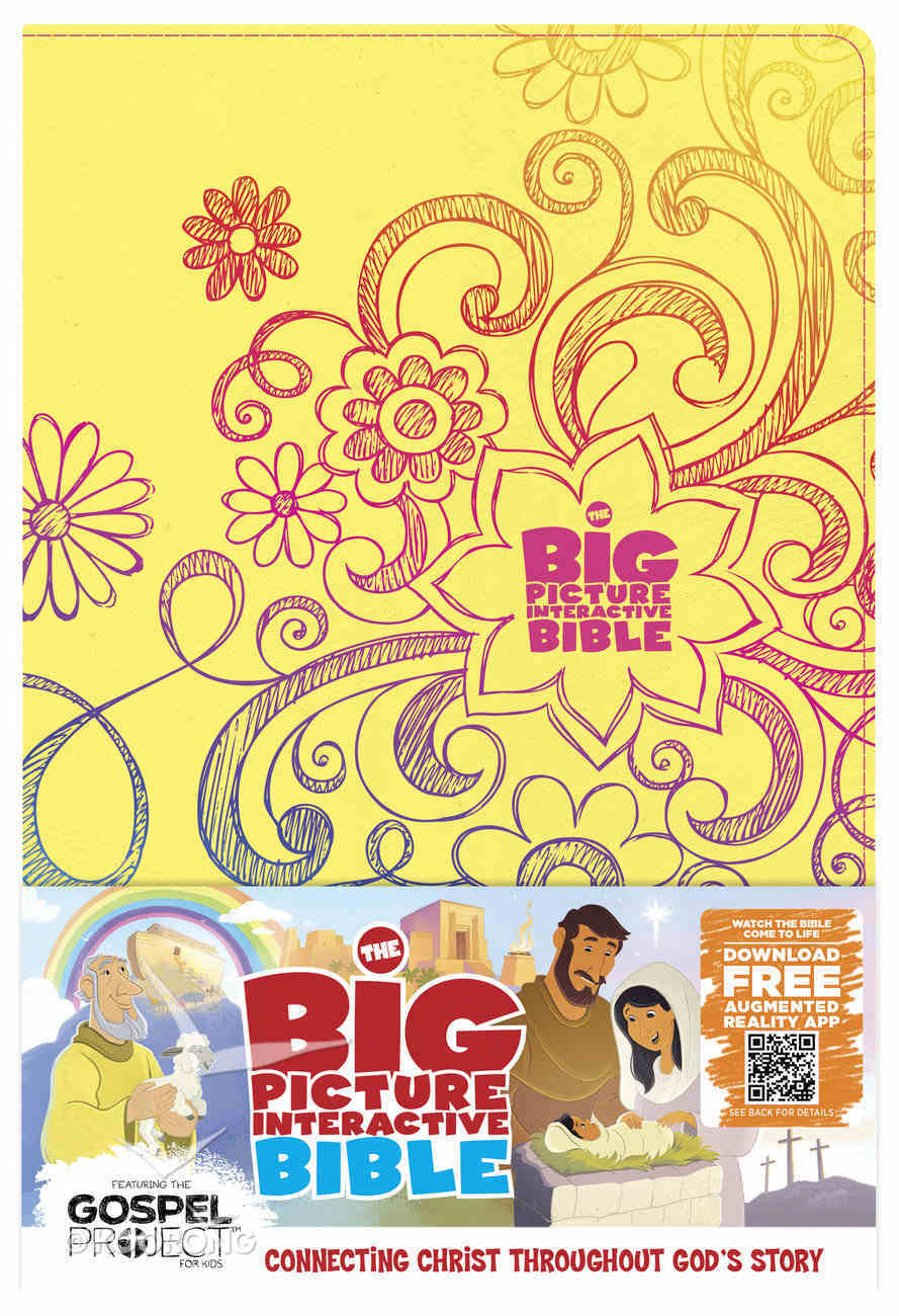 HCSB the Big Picture Interactive Bible For Kids Doodles Leathertouch Premium Imitation Leather