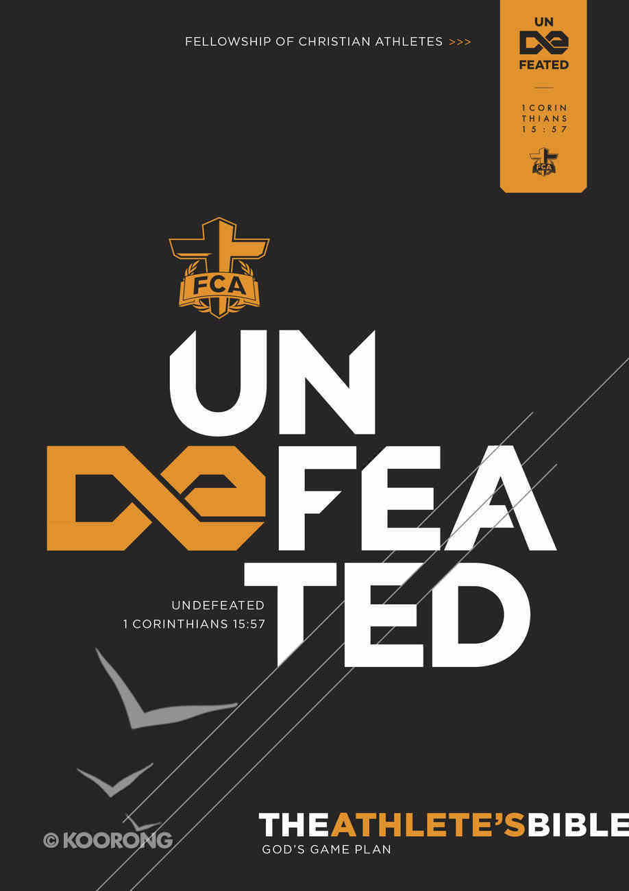 CSB Athlete's Bible: Undefeated Paperback