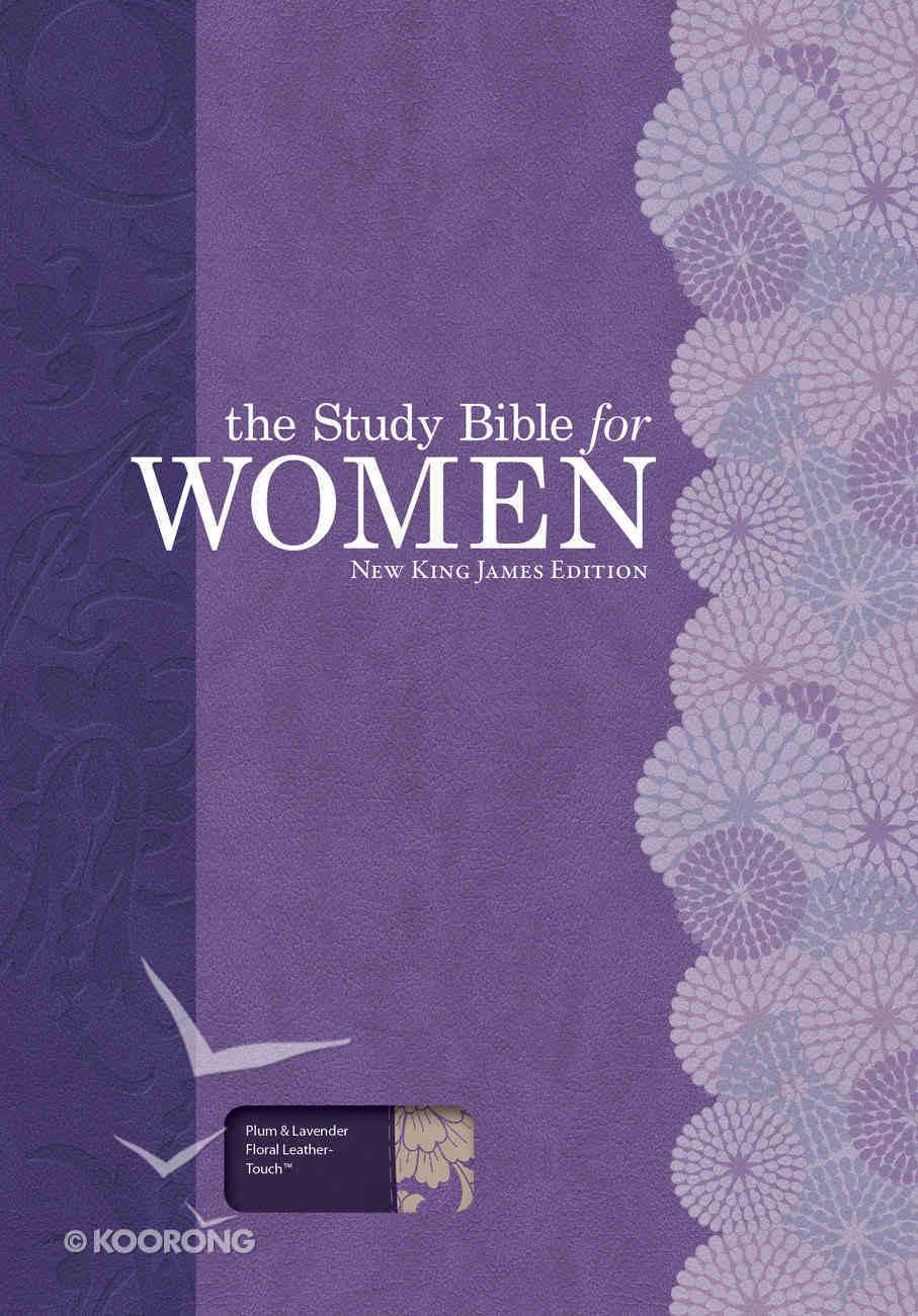 NKJV Study Bible For Women Plum/Lilac Imitation Leather