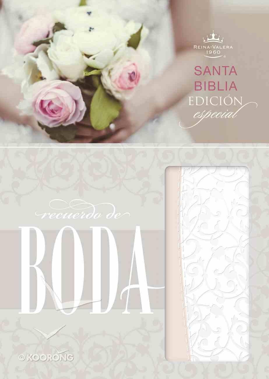 Rvr 1960 Biblia Recuerdo De Boda, Filigrana Blanca/Rosa Palo Simil Piel Imitation Leather