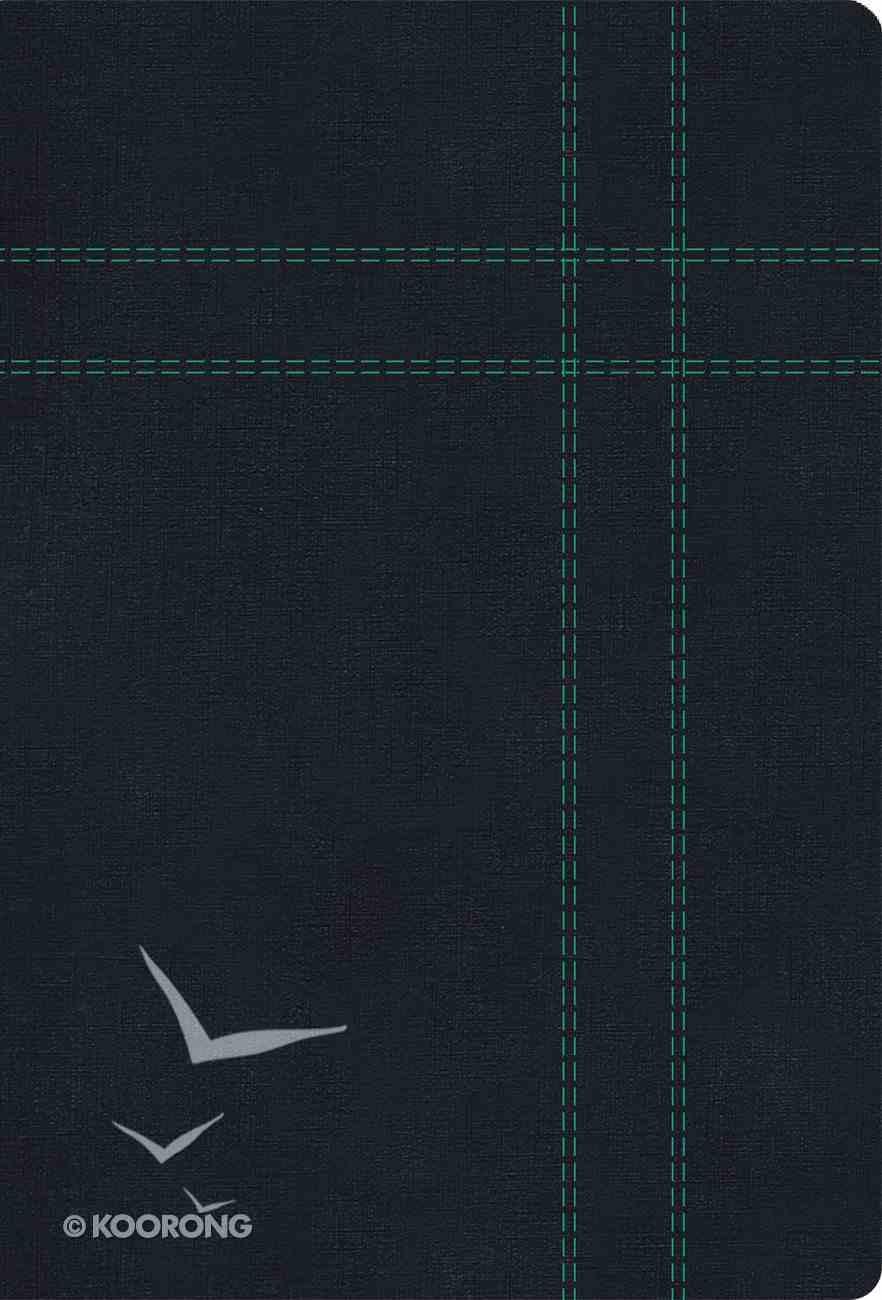 Rvr 1960/Kjv Biblia Bilinge Tamao Personal, Negro Imitacin Piel Imitation Leather
