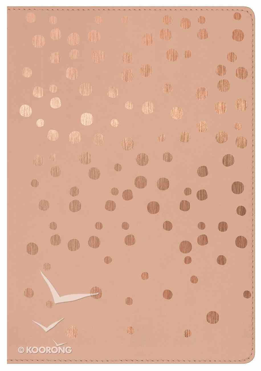 HCSB Compact Ultrathin Bible For Teens Rose Gold Imitation Leather