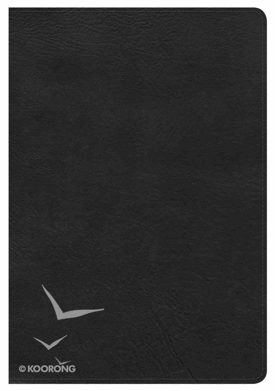 KJV Giant Print Reference Bible Black Imitation Leather