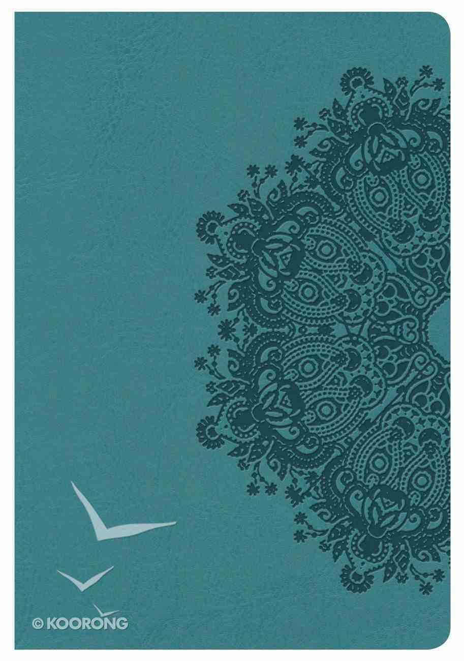 NKJV Compact Ultrathin Bible Teal Leathertouch Imitation Leather