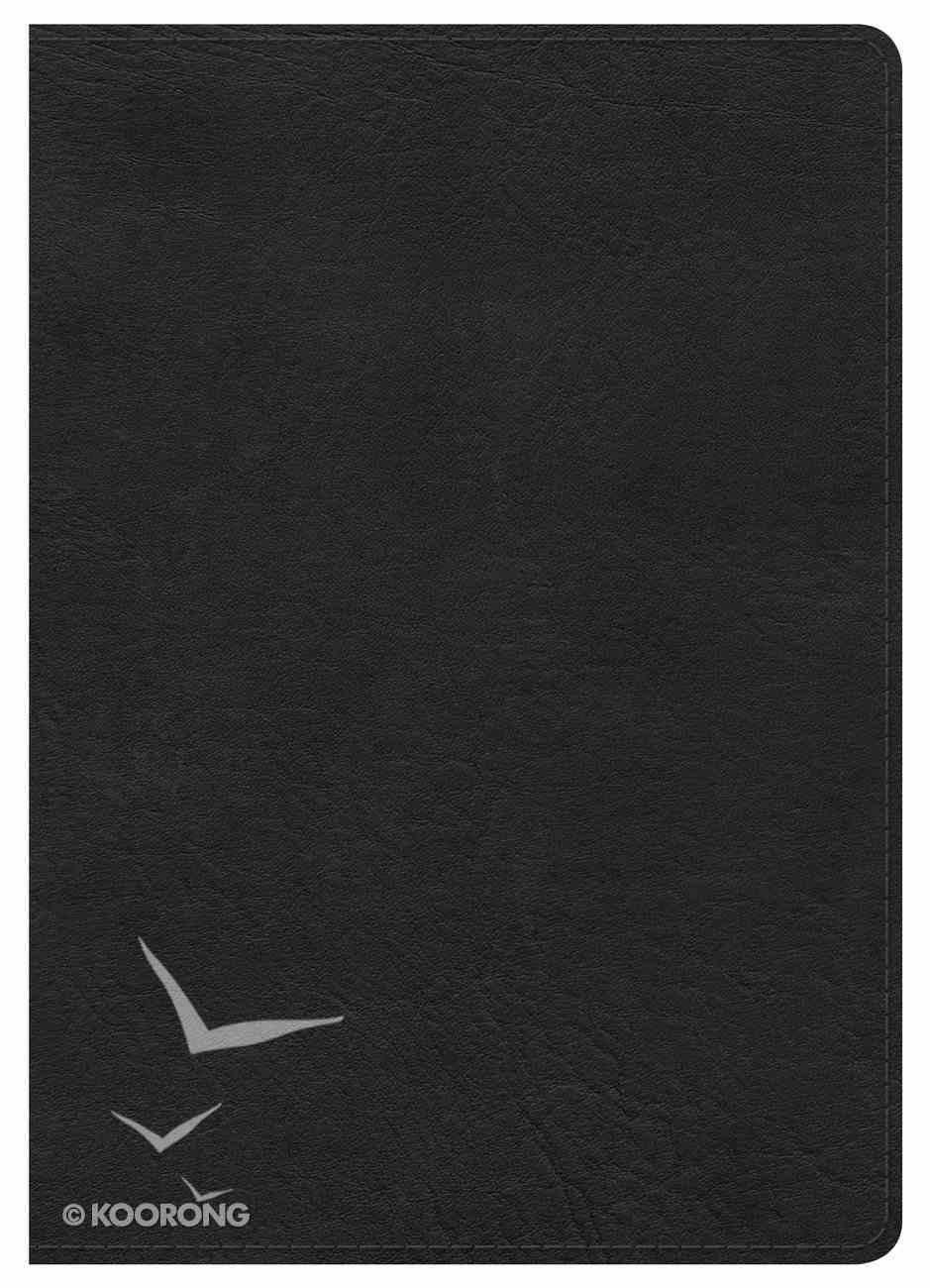 NKJV Large Print Compact Reference Bible Black Imitation Leather