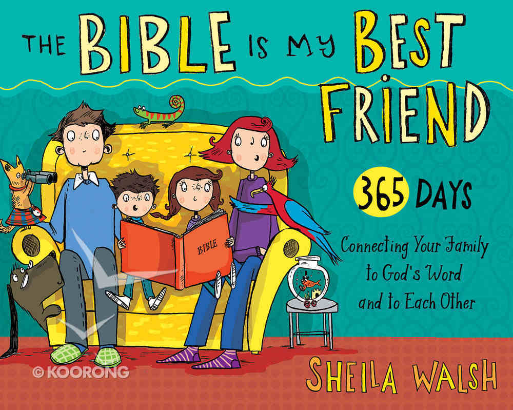 The Bible is My Best Friend Flip Book Spiral