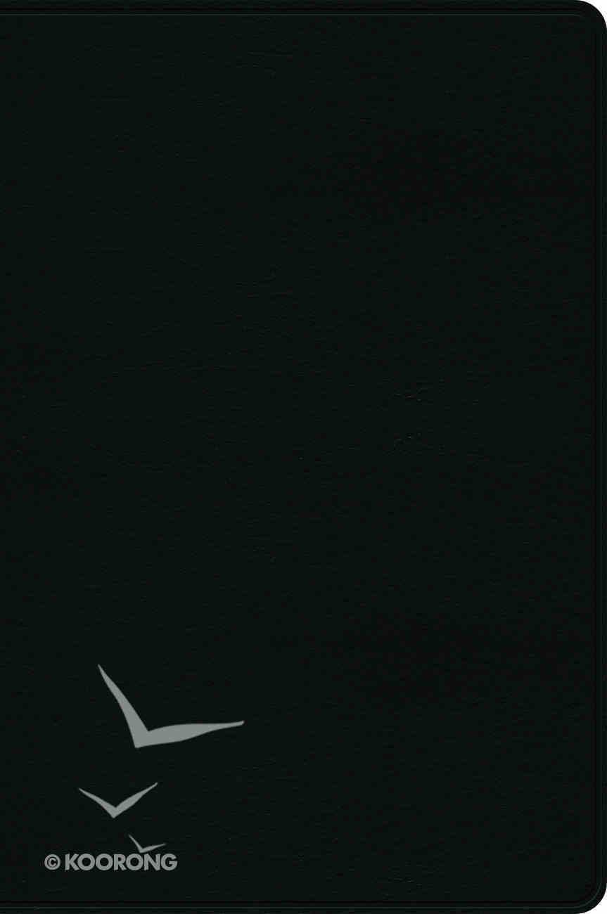 Rvr 1960 Biblia De Estudio Arco Iris Negro Imitacin Piel (Spanish) Genuine Leather
