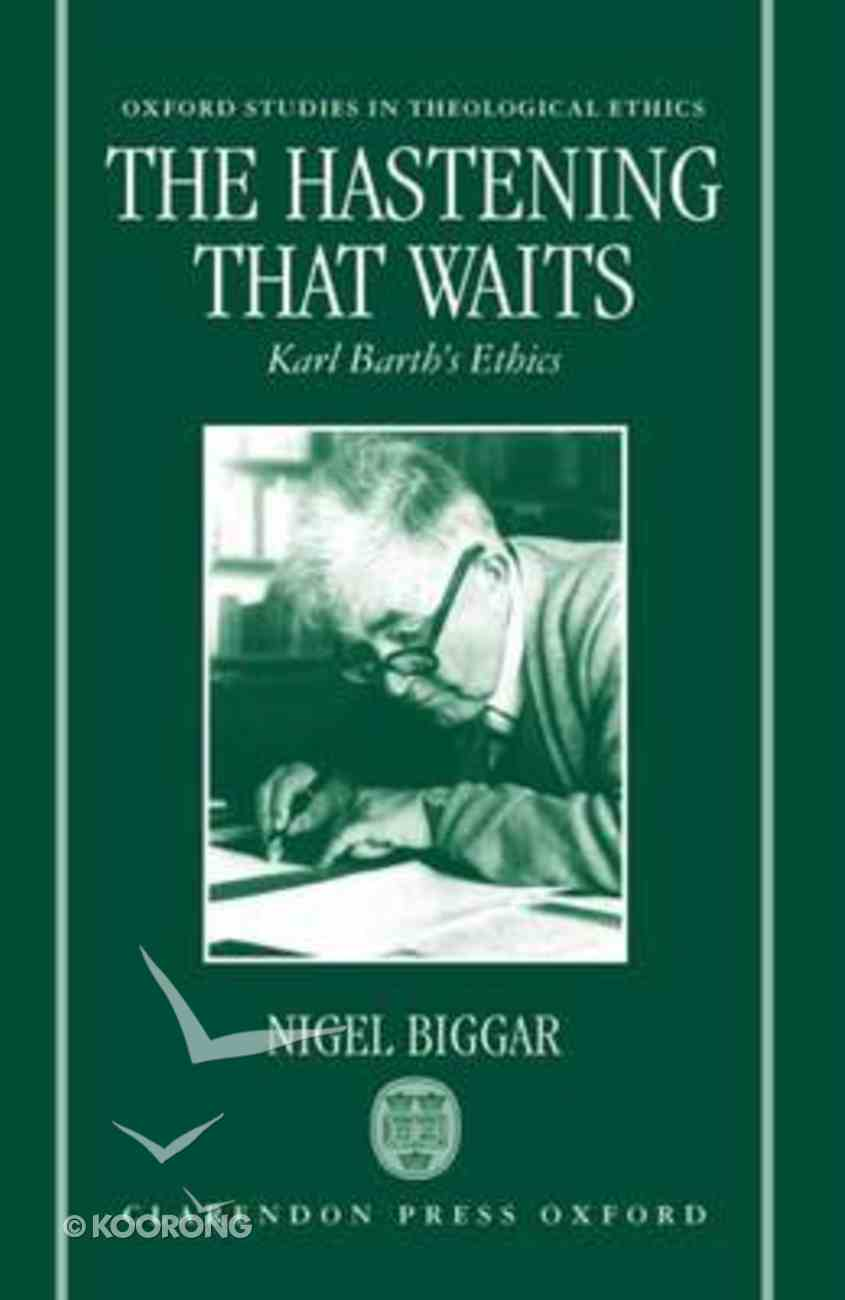 The Hastening That Waits Paperback