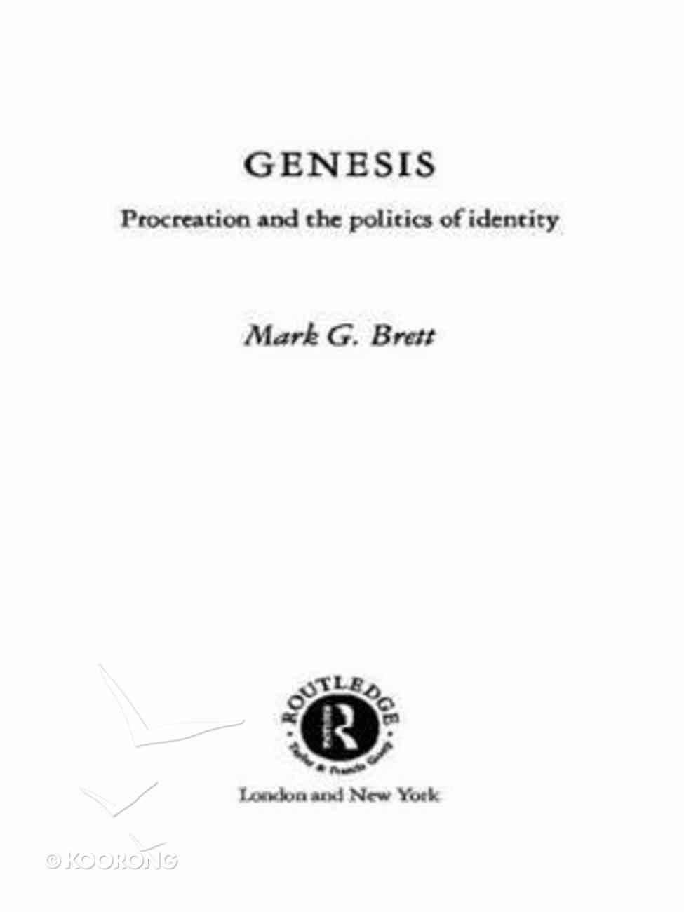 Genesis (Old Testament Readings) Paperback
