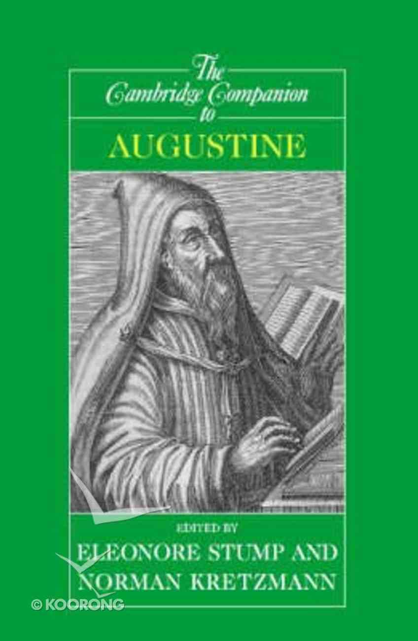The Cambridge Companion to Augustine Paperback