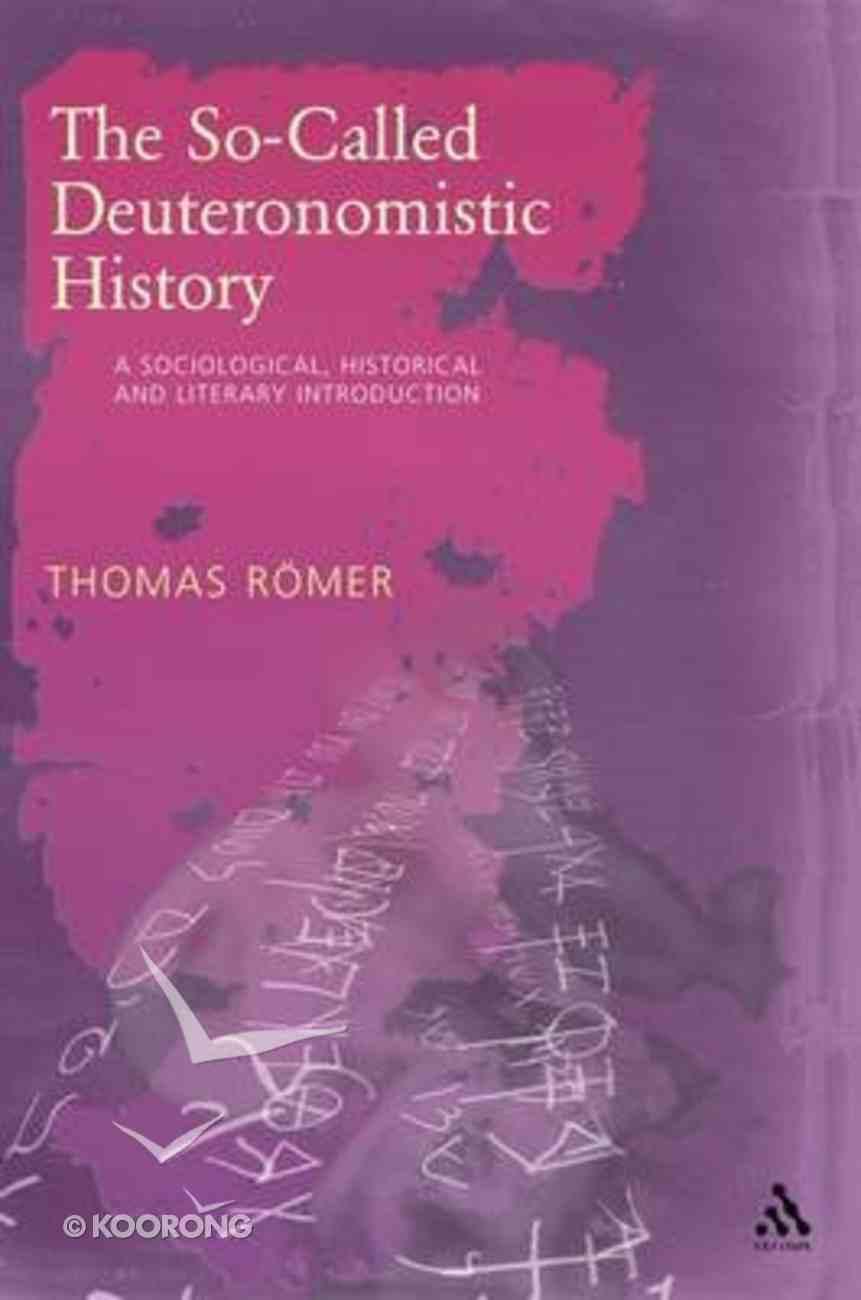 So-Called Deuteronomistic History Hardback