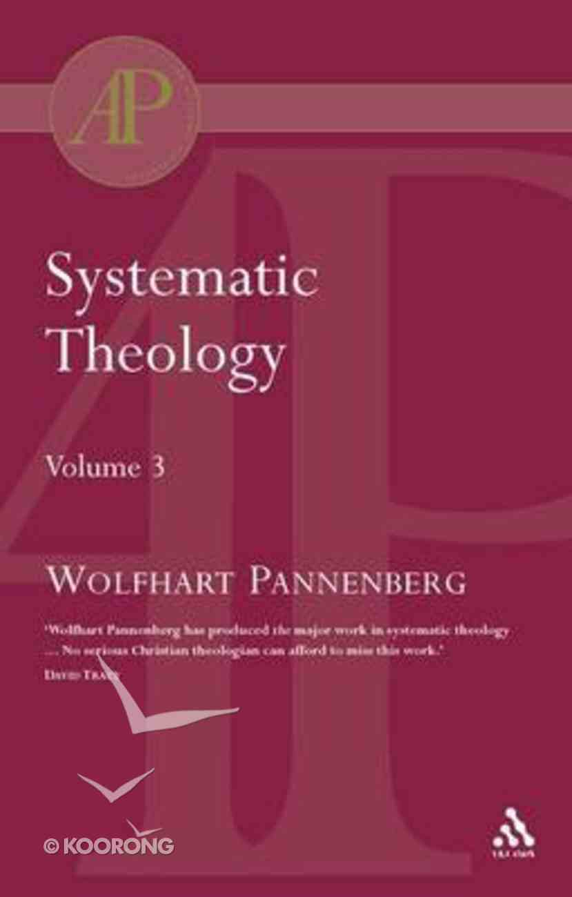 Systematic Theology (Vol 3) Paperback