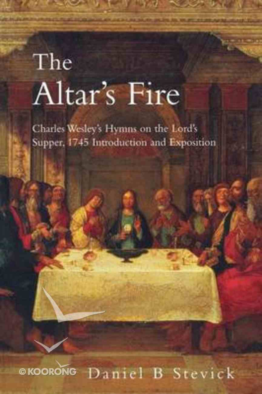 The Altar's Fire Paperback