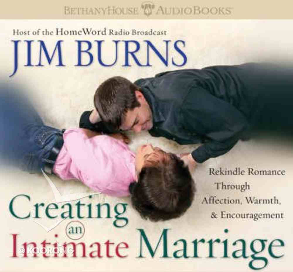 Creating An Intimate Marriage CD