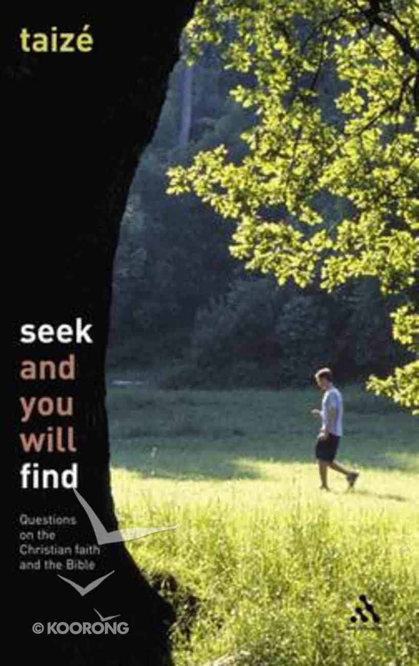 Seek and You Will Find Paperback