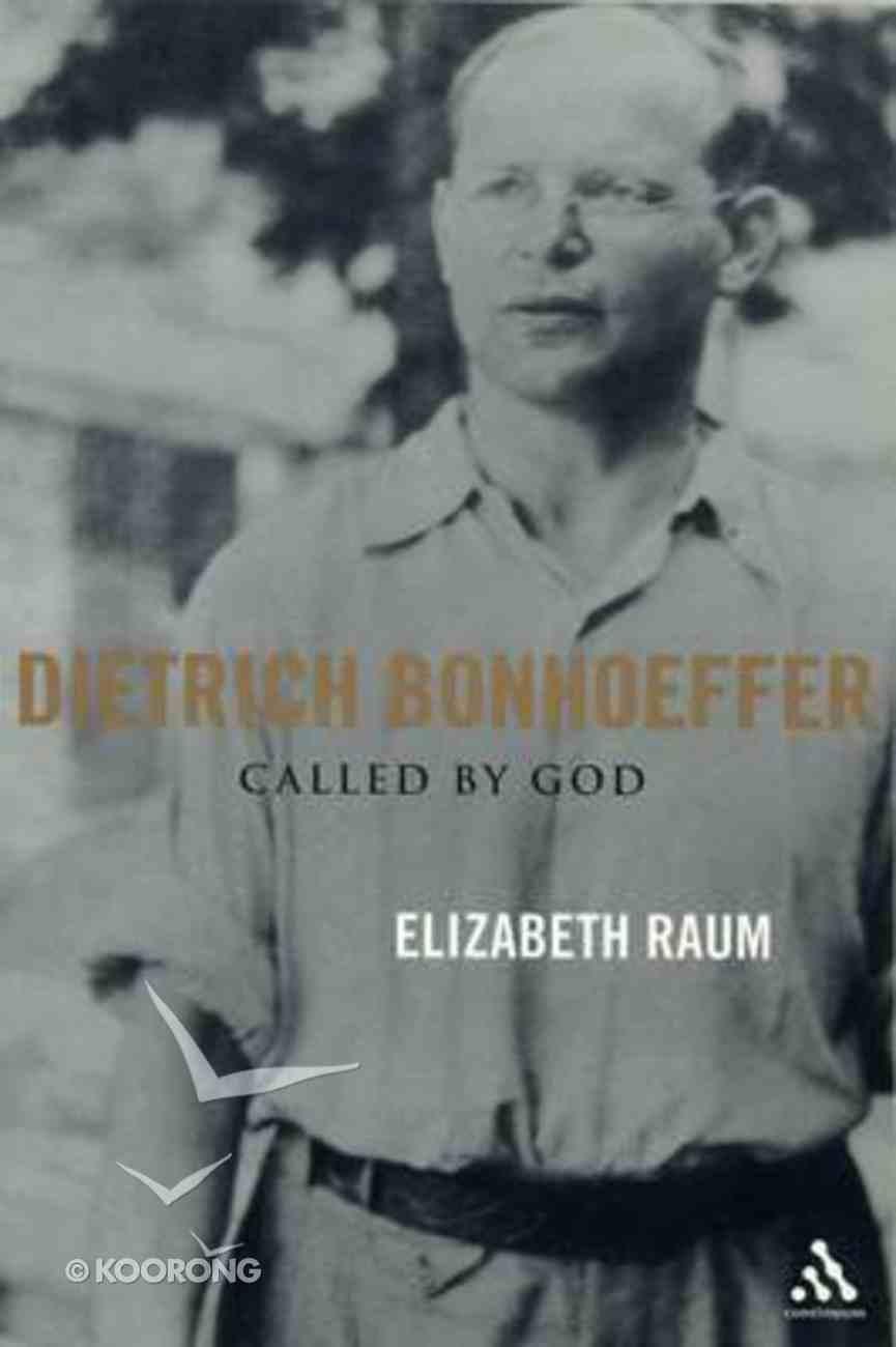 Dietrich Bonhoeffer Hardback