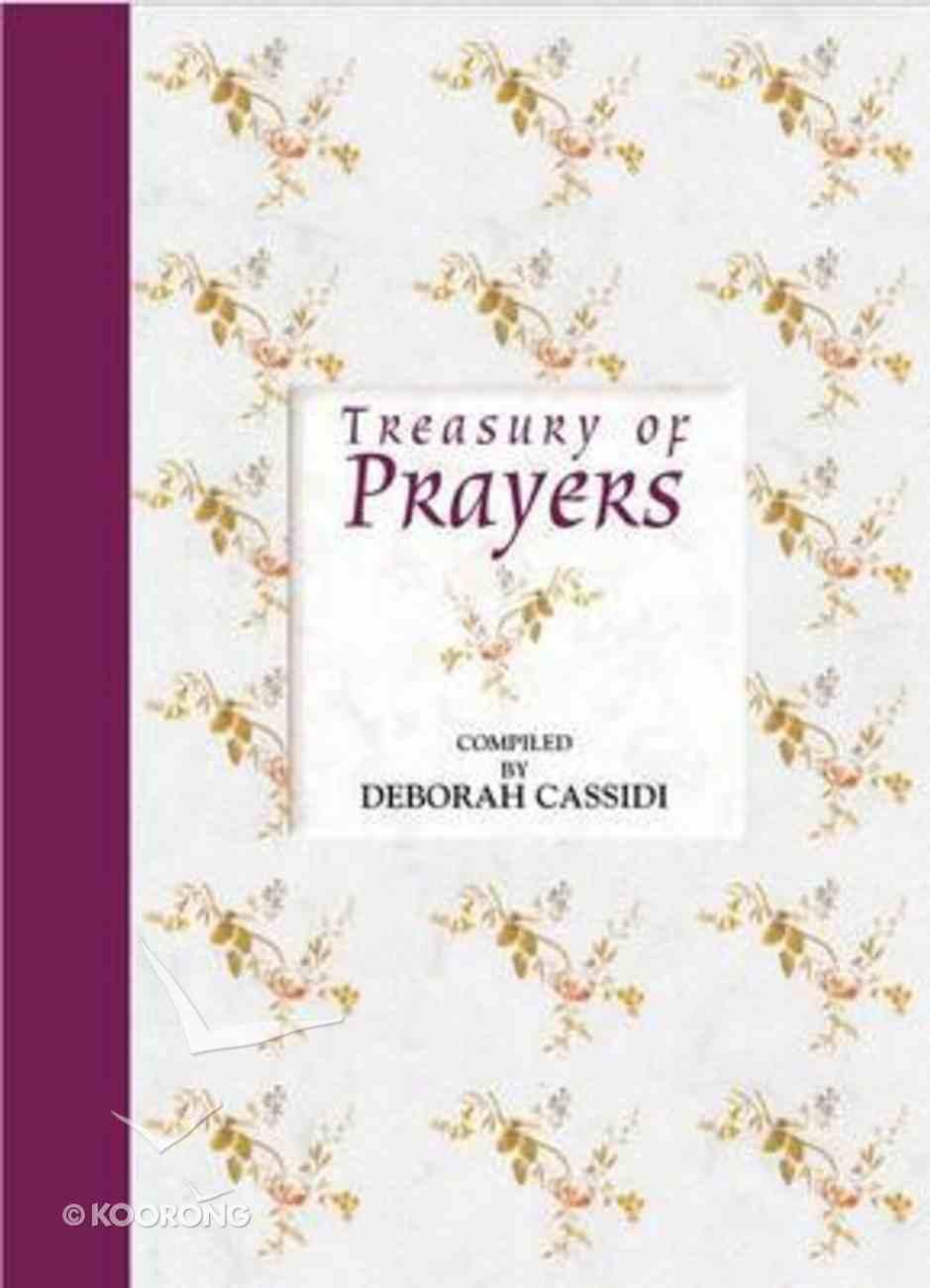 Treasury of Prayers Hardback