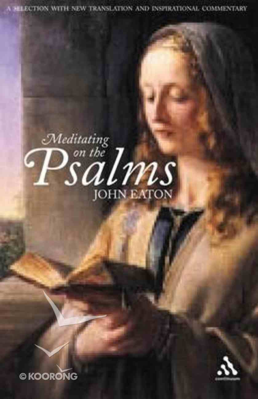 Meditating on the Psalms Paperback