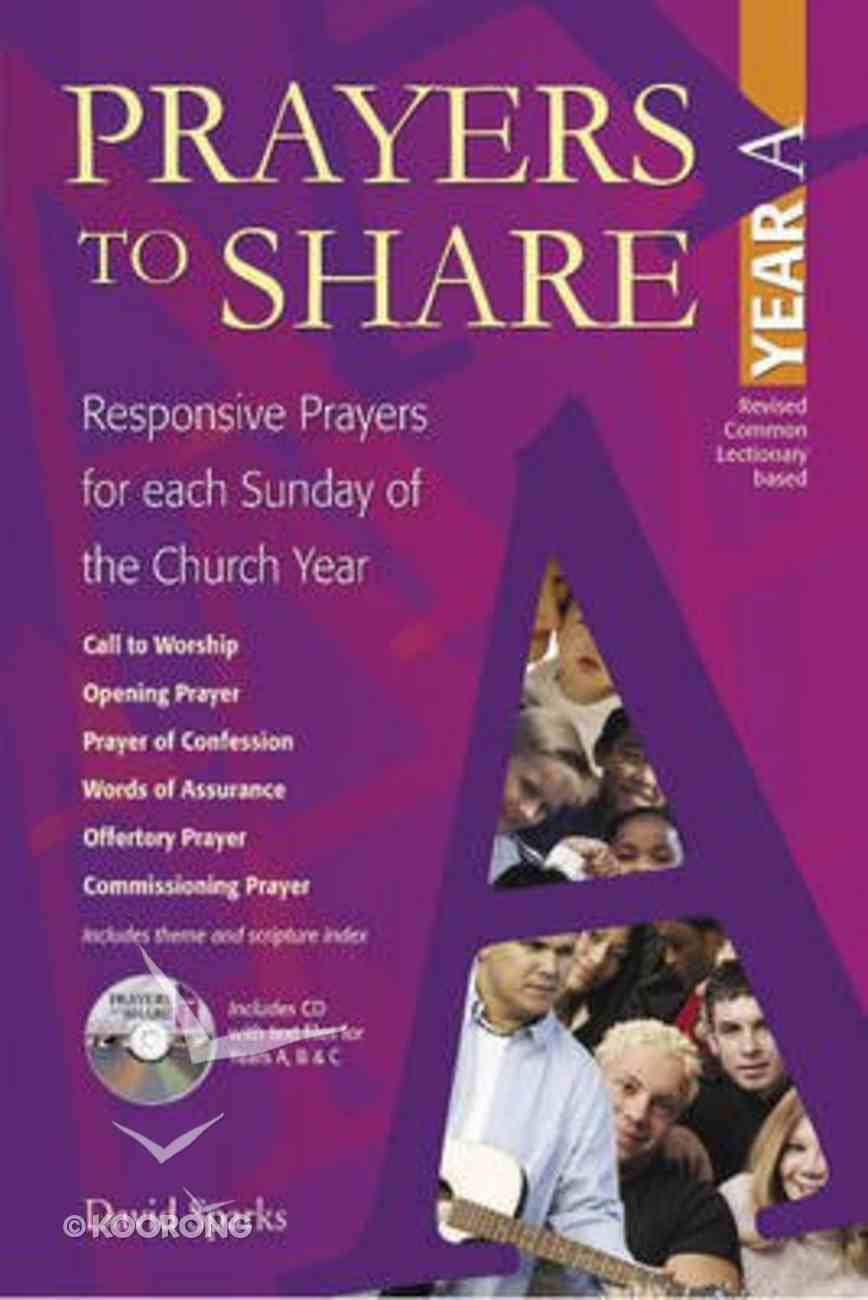 Prayers to Share (Year A) Paperback