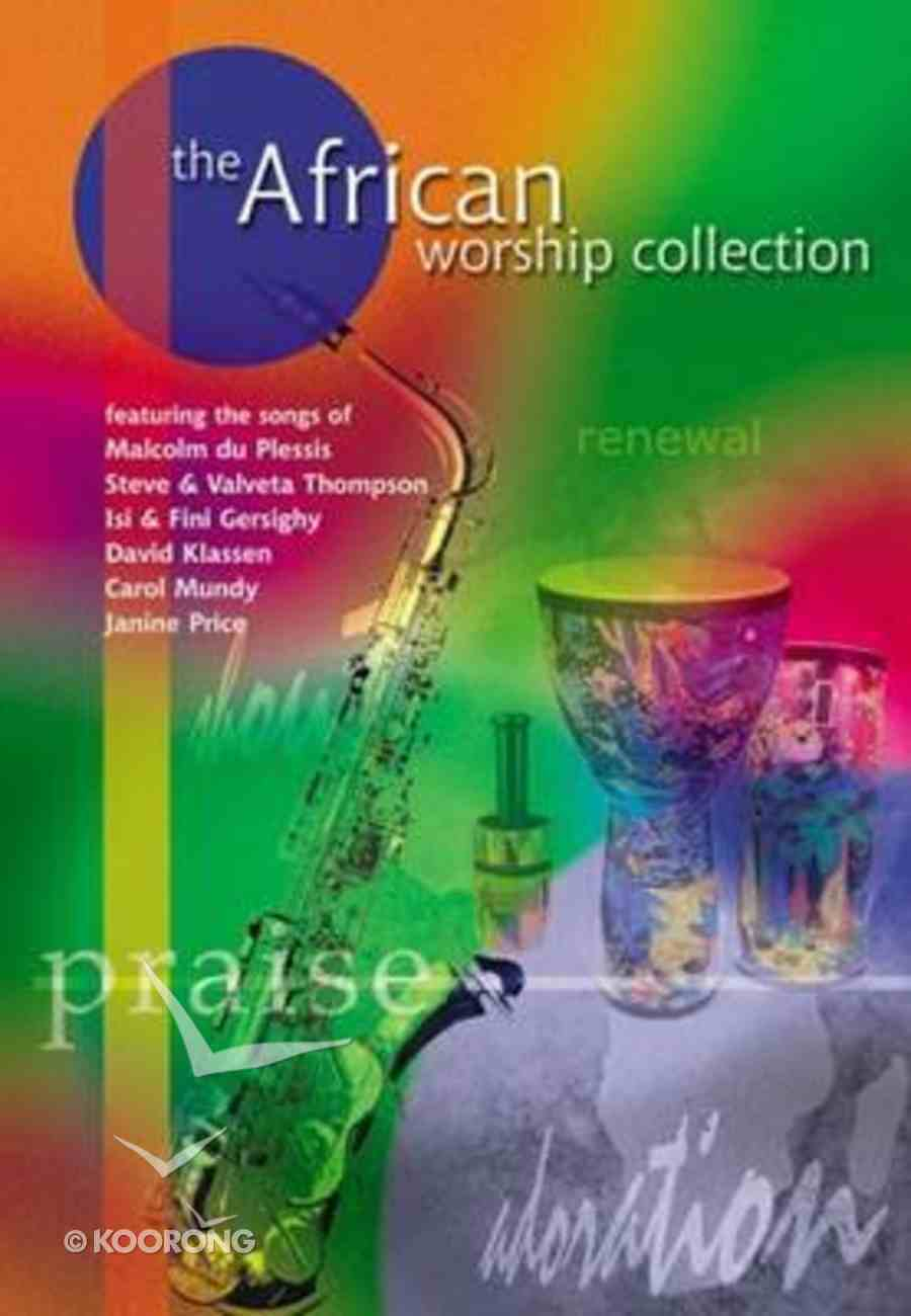 The African Worship Collection (Music Book) Spiral