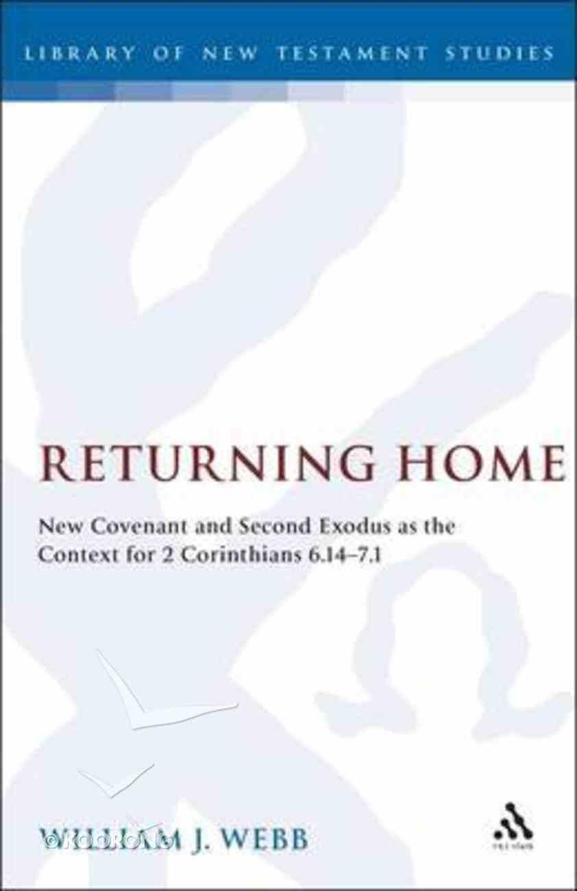 Returning Home Hardback