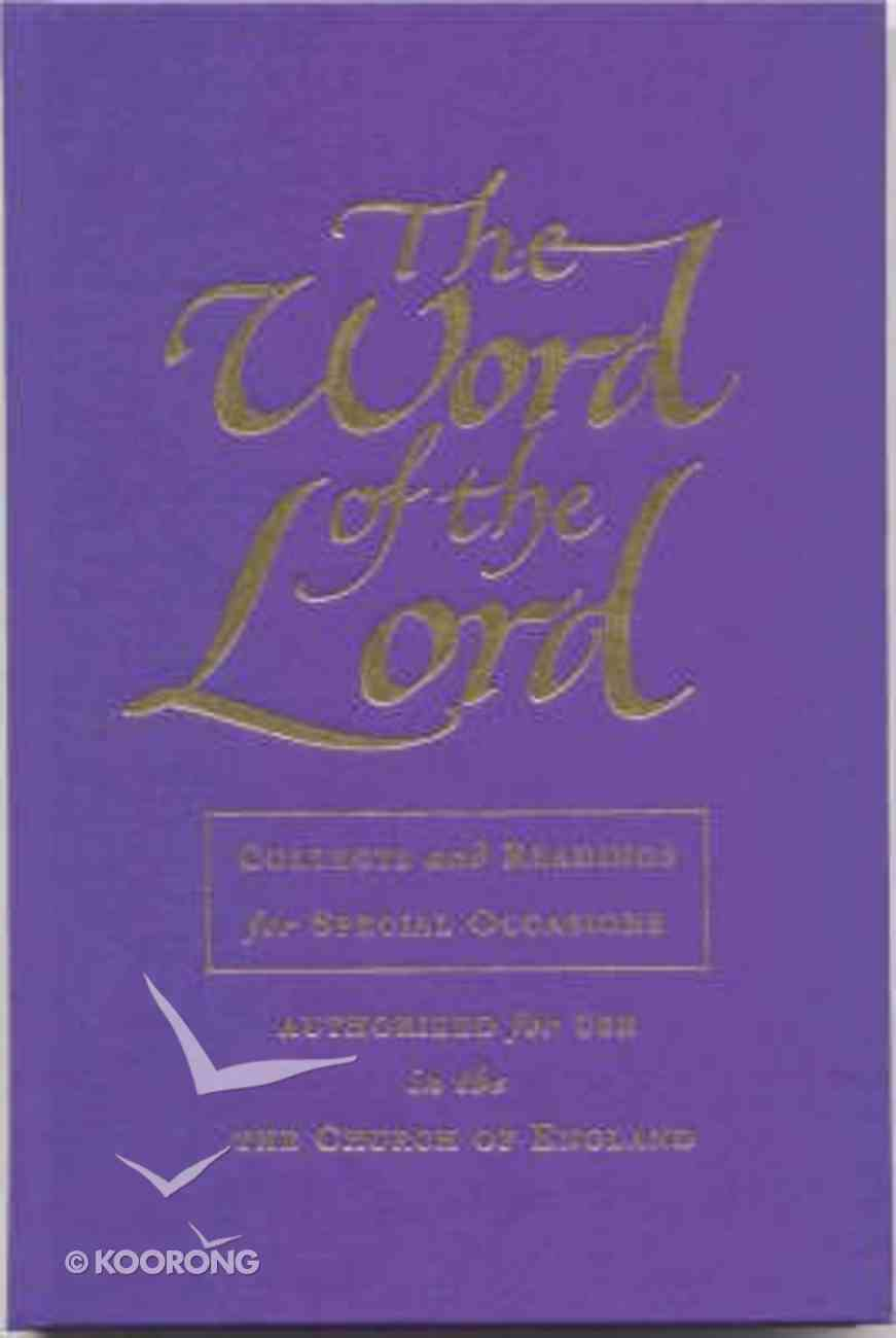 The Word of the Lord Special Occasions Hardback