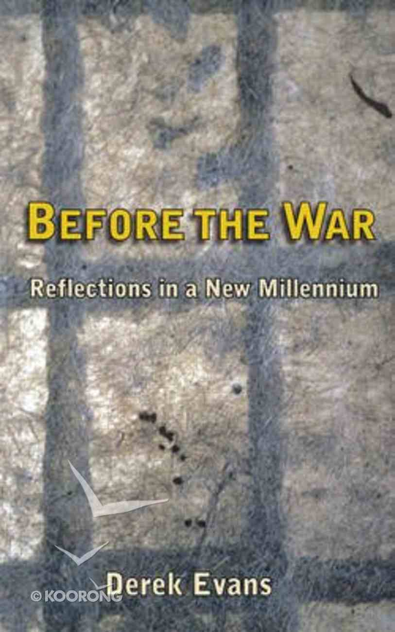 Before the War Paperback