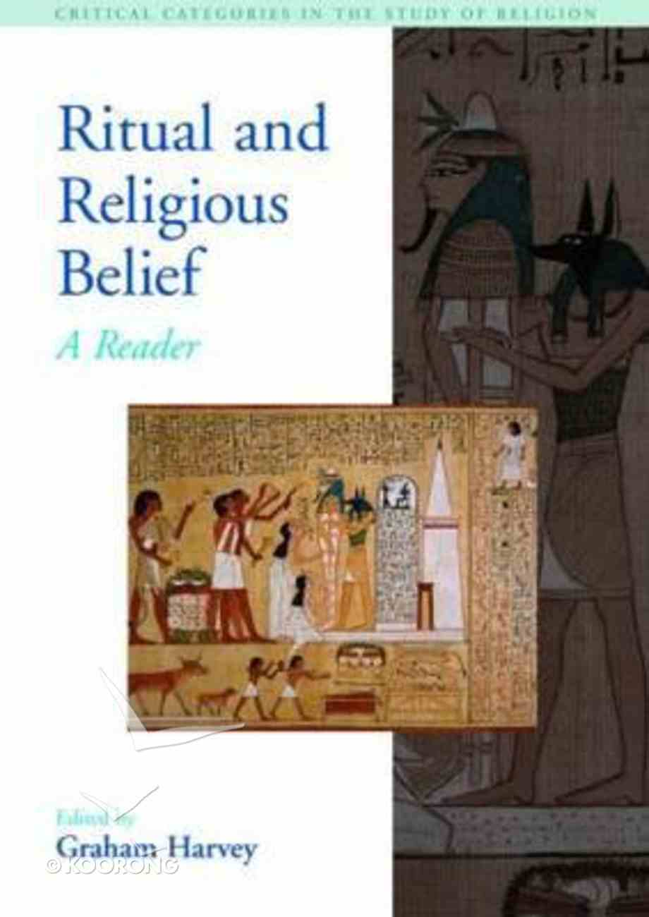 Ritual and Religious Belief Paperback