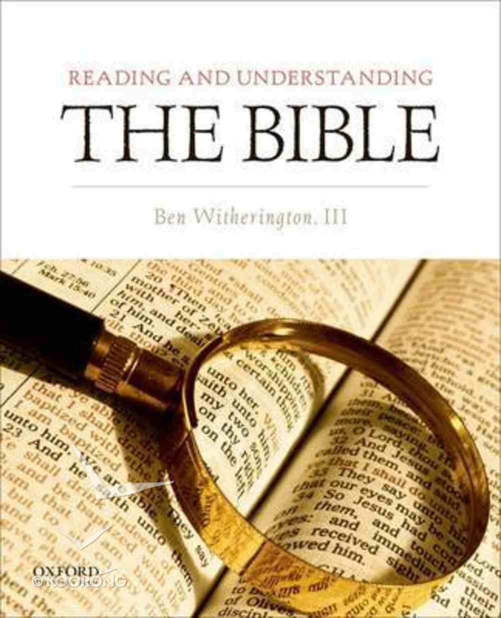 Reading and Understanding the Bible Paperback