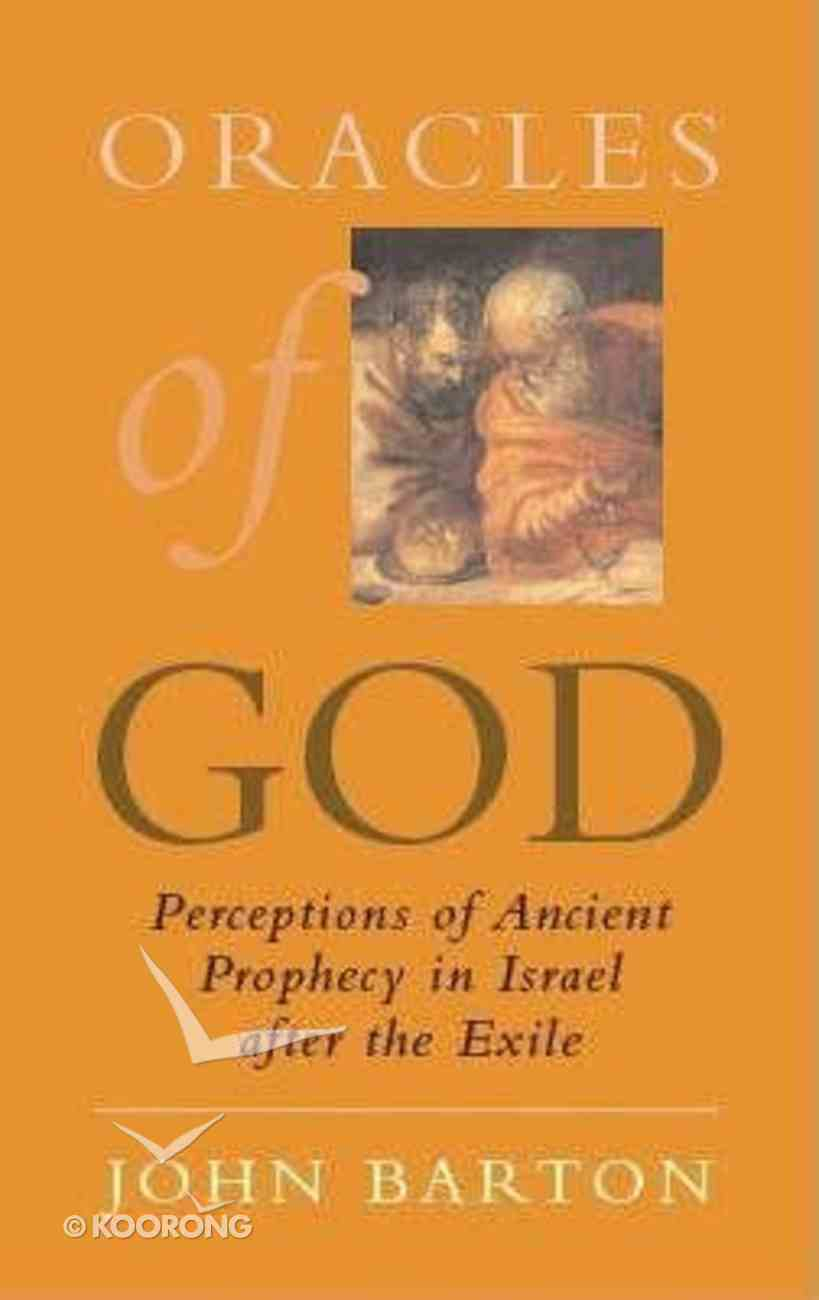 Oracles of God Paperback