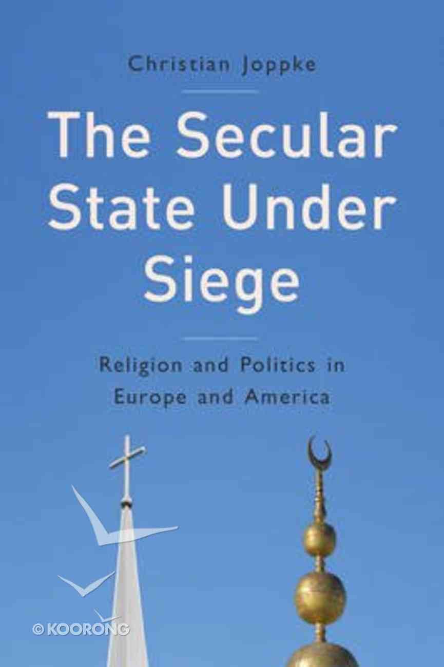 The Secular State Under Siege Paperback