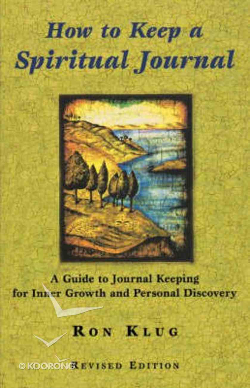 How to Keep a Spiritual Journal Paperback