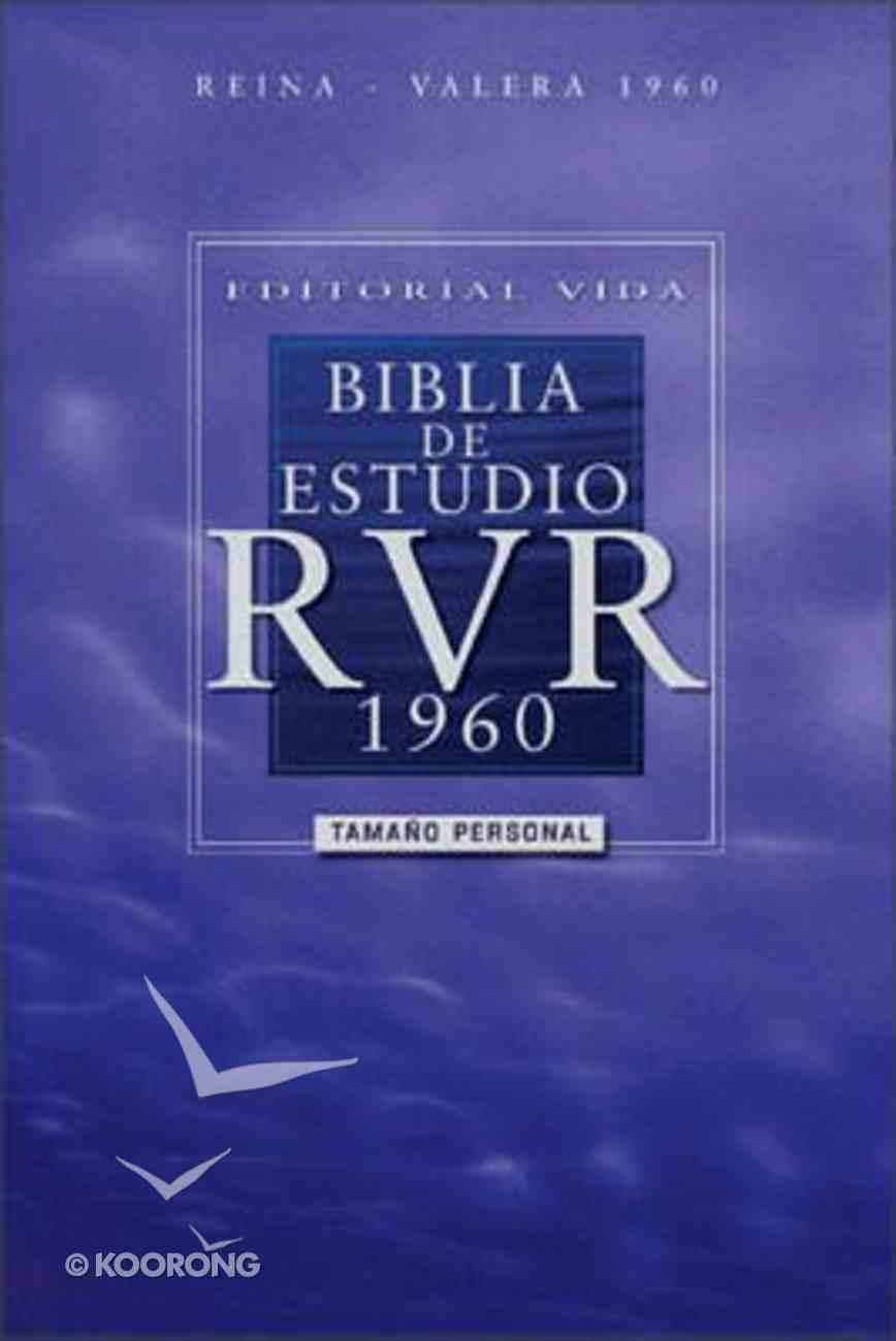 Editorial Vida Biblia De Estudio Rvr 1960, Tamao Personal (Red Letter Edition) Hardback