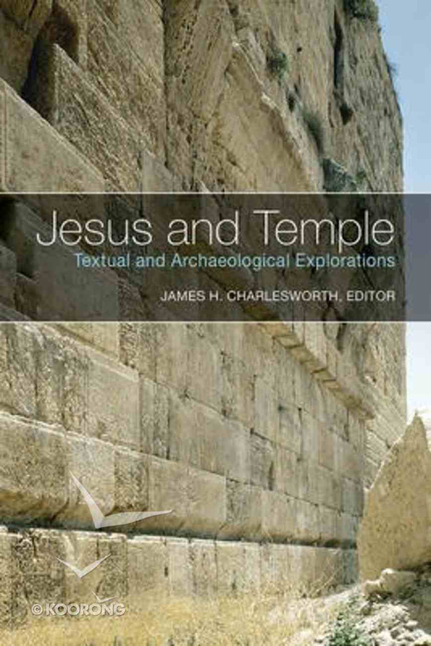 Jesus and Temple Paperback