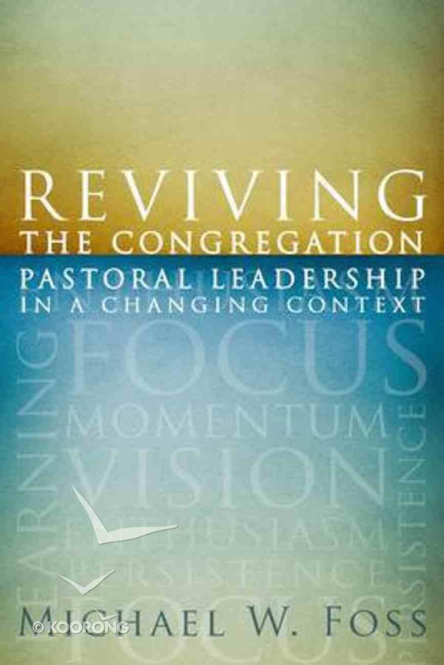 Reviving the Congregation Paperback