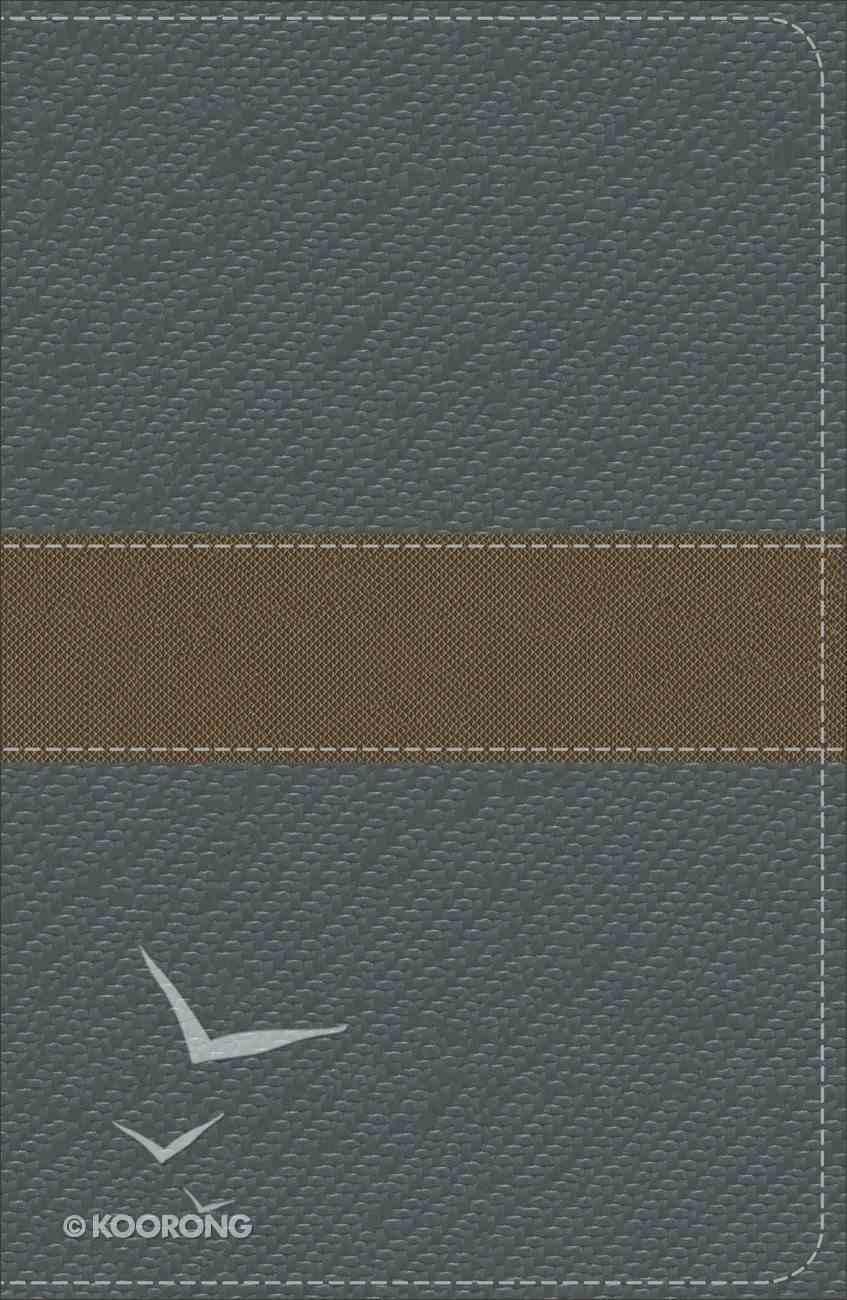 KJV Study Bible For Boys Granite/Copper, Metallic Design Duravella (Red Letter Edition) Imitation Leather