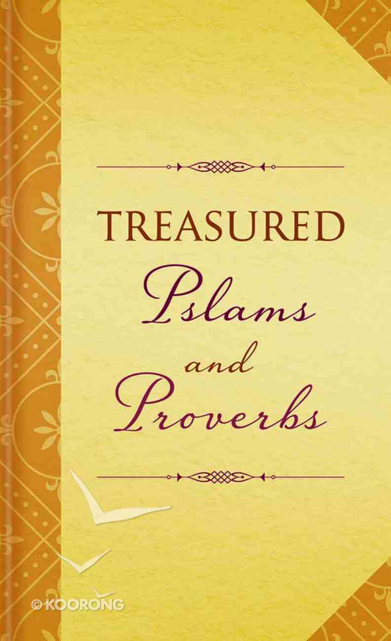 Treasured Psalms and Proverbs Mass Market