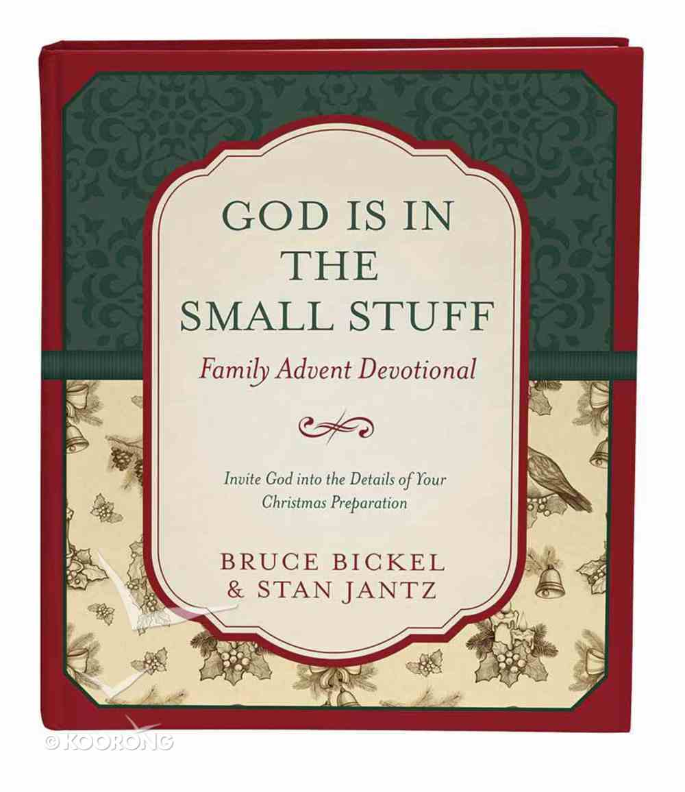 God is in the Small Stuff: Family Advent Devotional Hardback