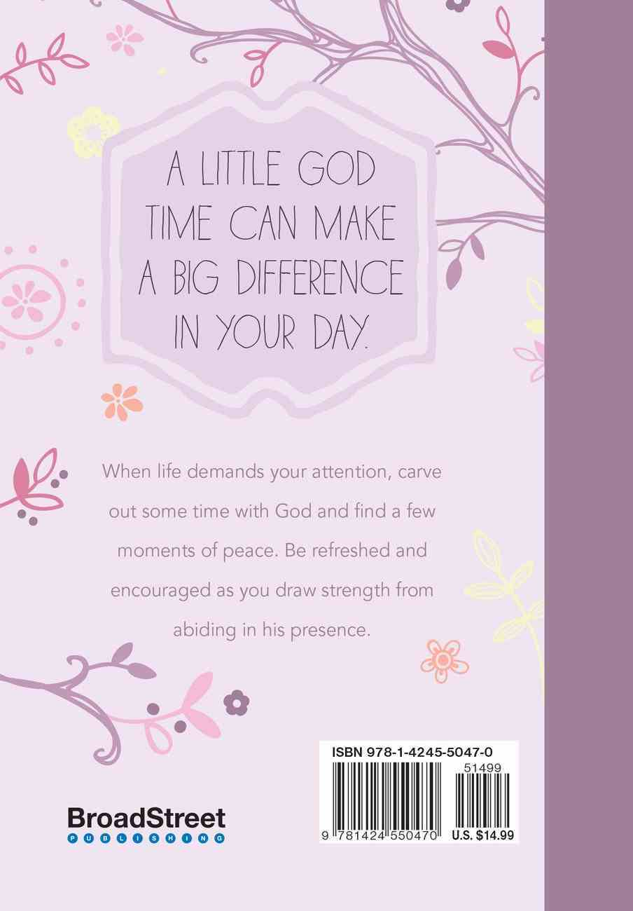 A Little God Time For Women: 365 Daily Devotions Hardback