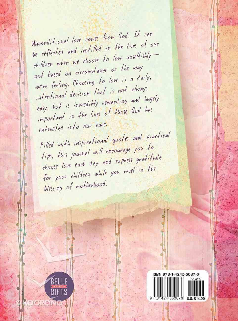Journal: Choose Love, a Mother's Blessing Hardback