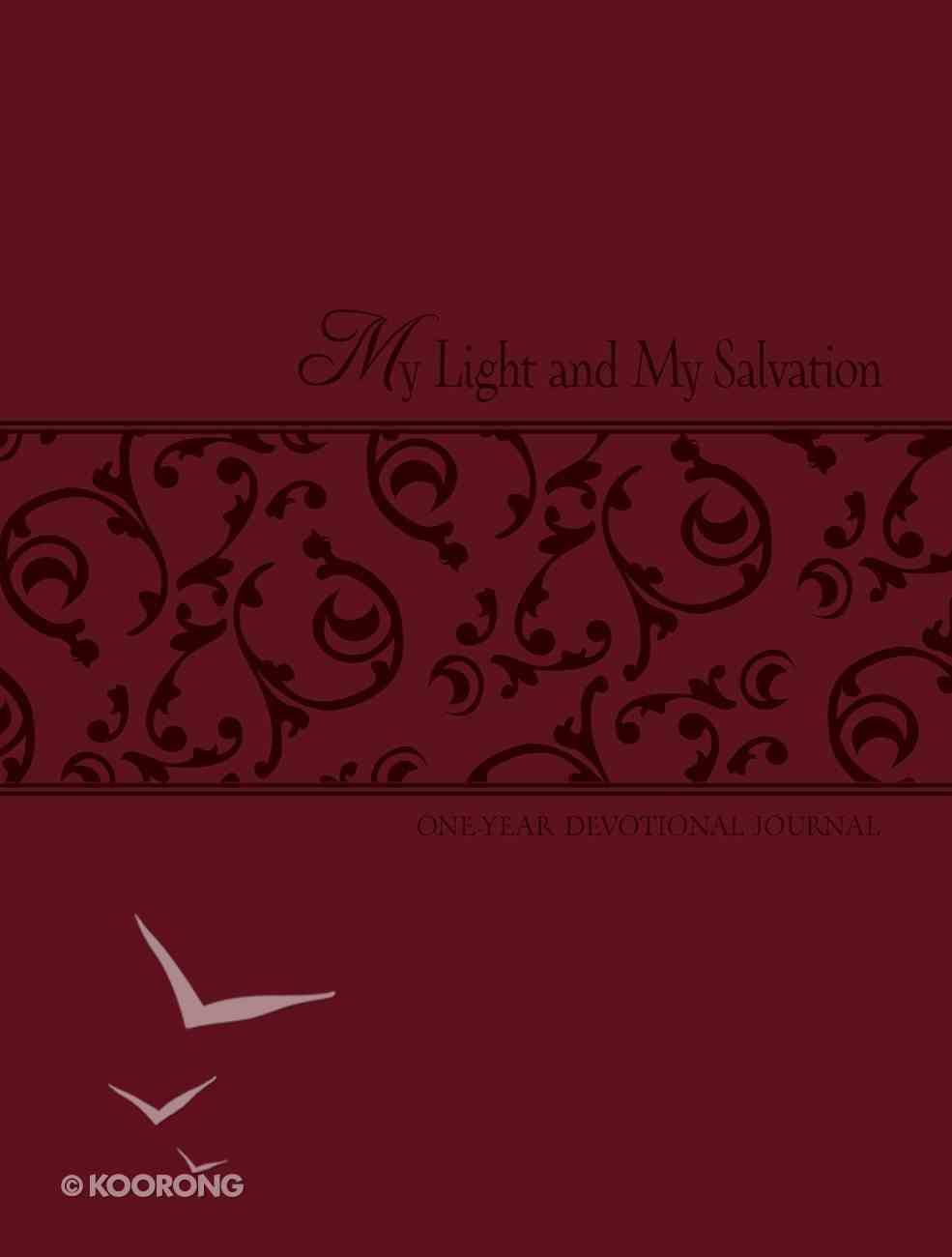 My Light and My Salvation (One Year Devotional Journal) Imitation Leather