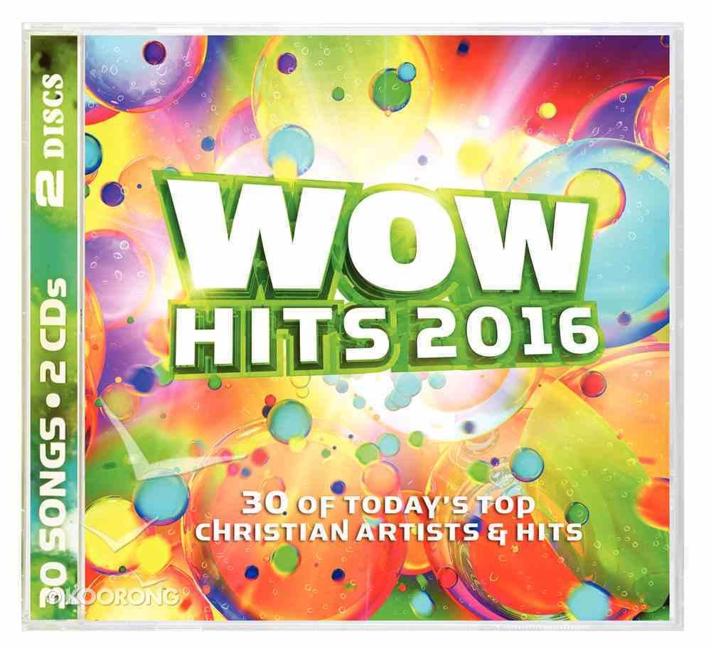Wow Hits 2016 Double CD CD