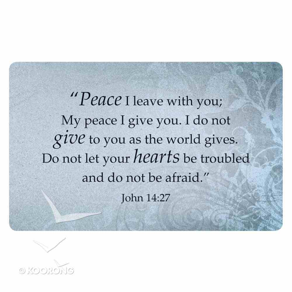 Faithbuilders: Words of Jesus, Pack of 20 Cards (5 Each Of 4 Designs) Cards