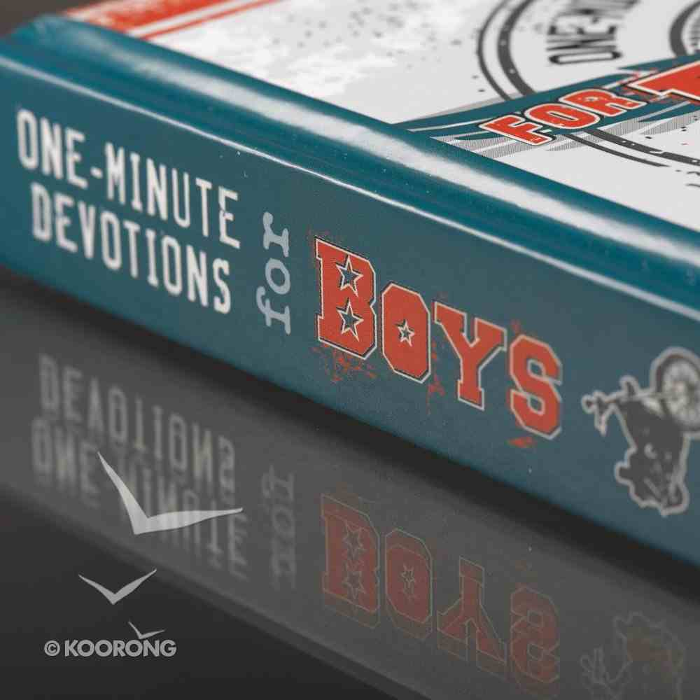 One-Minute Devotions For Boys Hardback