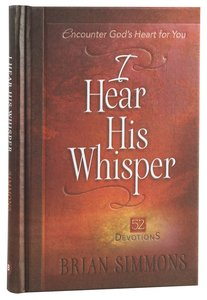 Product: I Hear His Whisper #01: Encounter God's Heart For You - 52 Devotions Image